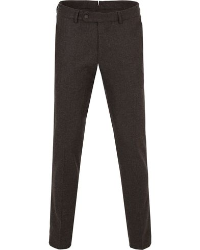 Morris Rodney Pepita Wool Trousers Brown i gruppen Byxor / Flanellbyxor hos Care of Carl (13300211r)