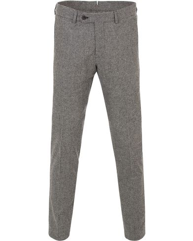 Morris Rodney Pepita Wool Trousers Salt & Pepper i gruppen Klær / Bukser / Flanellbukser hos Care of Carl (13300311r)