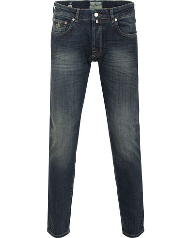 Morris Steave Vintage Jeans Blue i gruppen Jeans / Smale jeans hos Care of Carl (13300411r)