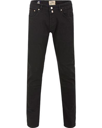 Morris Steave Jeans Black i gruppen Klær / Jeans / Smale jeans hos Care of Carl (13300611r)