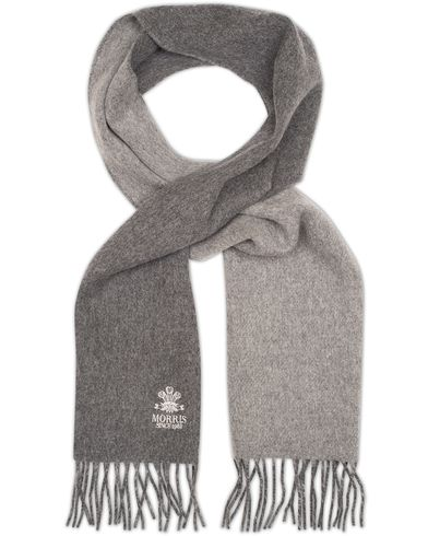 Morris Double Face Scarf Grey  i gruppen Accessoarer / Halsdukar hos Care of Carl (13301810)