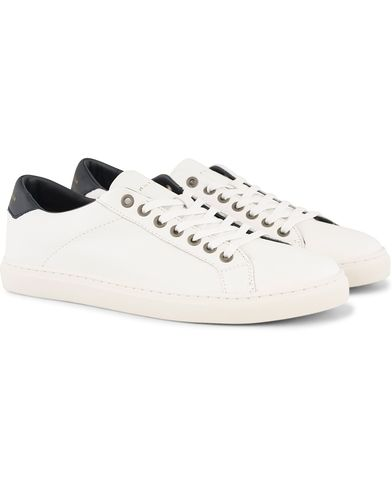Tommy Hilfiger Mount Sneaker White Leather i gruppen Skor / Sneakers / Låga sneakers hos Care of Carl (13302811r)