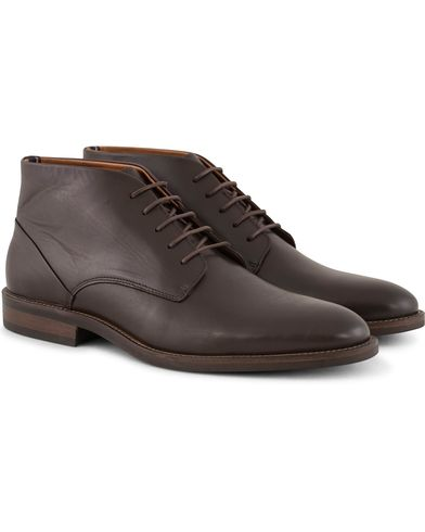 Tommy Hilfiger Dallen Chukka Boot Coffe Bean Calf i gruppen Design A / Sko / Støvler / Chukka boots hos Care of Carl (13303511r)