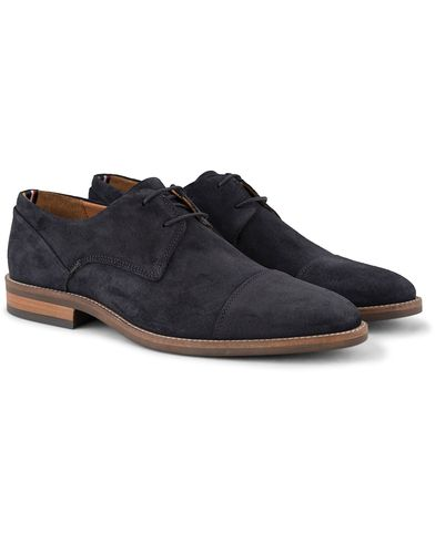 Tommy Hilfiger Dallen Derby Midnight Suede i gruppen Skor / Derbys hos Care of Carl (13303811r)