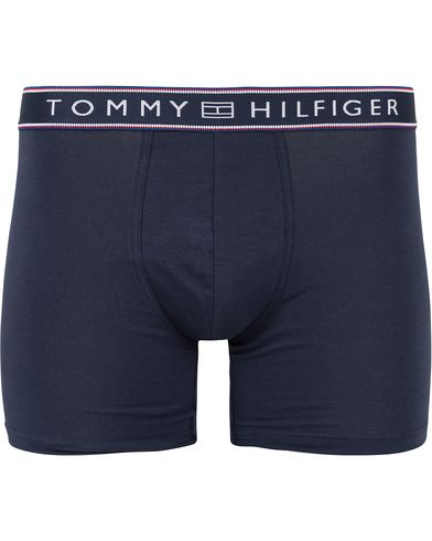 Tommy Hilfiger Cotton Flex Stripe Boxer Brief Navy Blazer i gruppen Undertøy / Underbukser hos Care of Carl (13304911r)
