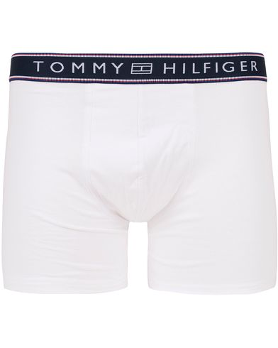 Tommy Hilfiger Cotton Flex Stripe Boxer Brief White i gruppen Klær / Undertøy / Underbukser hos Care of Carl (13305111r)