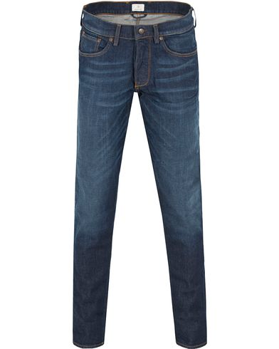 Gant Diamond G Slim Tapered Jeans Mid Blue i gruppen Jeans / Avsmalnande jeans hos Care of Carl (13306011r)