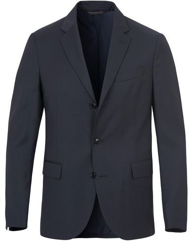 Gant Diamond G Travel Suit Blazer Ink Blue i gruppen Kavajer / Enkelknäppta kavajer hos Care of Carl (13306611r)