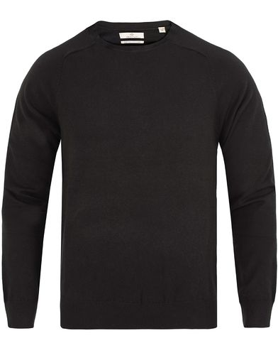 GANT Diamond G Cotton/Cashmere Crew Neck Black i gruppen Kläder / Tröjor / Pullovers / Rundhalsade pullovers hos Care of Carl (13307211r)