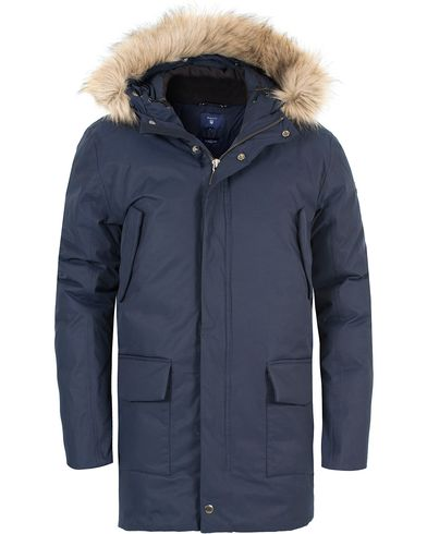 Gant The Arctic Parka Marine i gruppen Jackor / Parkas hos Care of Carl (13308611r)