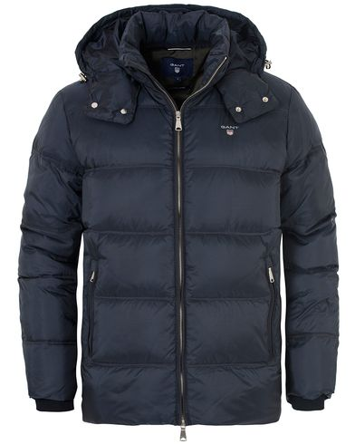 Gant The Alta Down Jacket Navy i gruppen Jackor / Vadderade Jackor hos Care of Carl (13308711r)