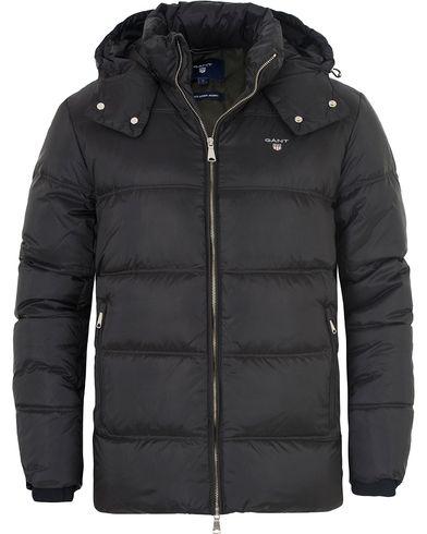 Gant The Alta Down Jacket Black i gruppen Jakker / Vatterte jakker hos Care of Carl (13308811r)