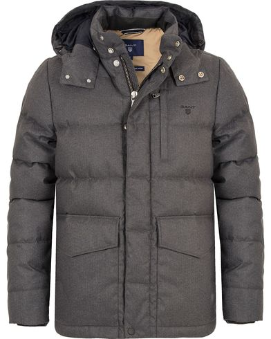 Gant The York Age Jacket Dark Grey i gruppen Jackor / Vadderade jackor hos Care of Carl (13308911r)