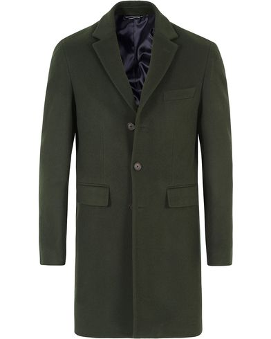 Gant The Harrison Overcoat Pine Green i gruppen Jackor / Vinterjackor hos Care of Carl (13309011r)