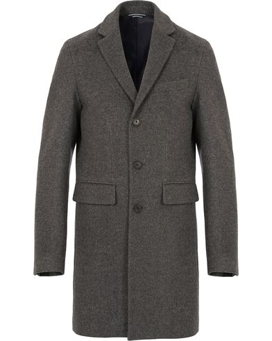 Gant The Harrison Overcoat Antracite i gruppen Jakker / Vinterjakker hos Care of Carl (13309111r)