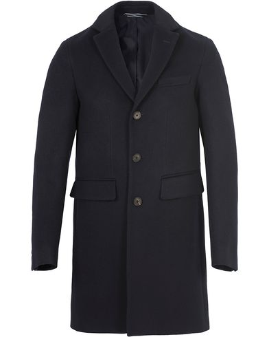 Gant The Harrison Overcoat Navy i gruppen Jackor / Vinterjackor hos Care of Carl (13309211r)
