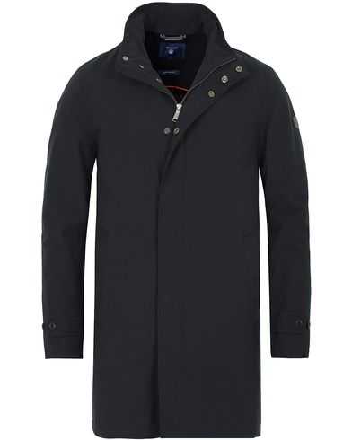 Gant The Seeter Raincoat Black i gruppen Jackor / Rockar hos Care of Carl (13309311r)
