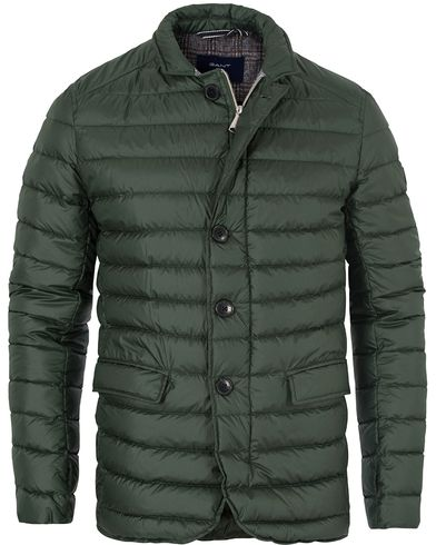 Gant The Madison Quilter Jacket Moss Green i gruppen Jackor / Quiltade Jackor hos Care of Carl (13309411r)