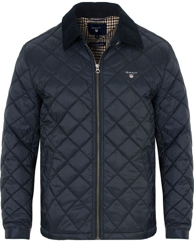 GANT The Quilted Windcheater Navy i gruppen Klær / Jakker / Quiltede jakker hos Care of Carl (13309611r)