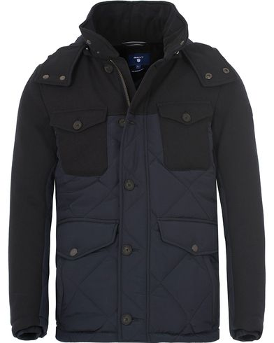 Gant The Harbour Parka Navy i gruppen Jackor / Vadderade jackor hos Care of Carl (13309711r)