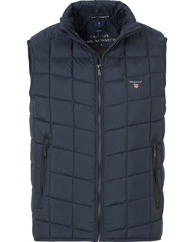 Gant The LW Cloud Vest Navy i gruppen Jakker / Yttervester hos Care of Carl (13310311r)