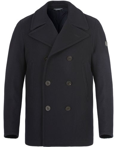 GANT The Riverside Peacoat Navy i gruppen Kläder / Jackor / Skepparkavajer hos Care of Carl (13310411r)