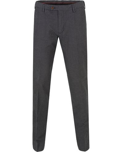 GANT Tailored Slim Wool Look Slacks Graphite i gruppen Klær / Bukser / Chinos hos Care of Carl (13310711r)