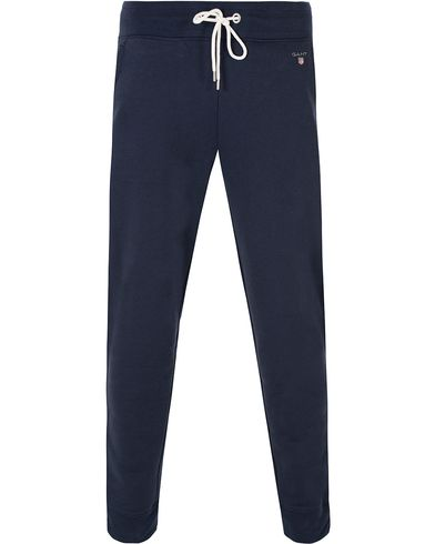 Gant The Original Sweatpants Marine i gruppen Bukser / Joggebukser hos Care of Carl (13316511r)