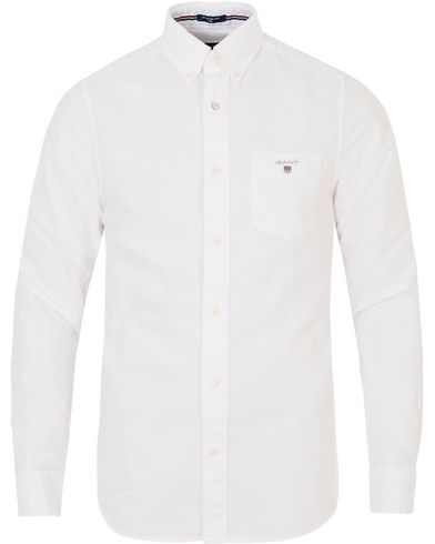 Gant The Oxford Shirt Fitted Body White i gruppen Skjorter / Casual Skjorter hos Care of Carl (13319411r)