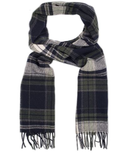 Gant Check Lambswool Scarf Moss Green  i gruppen Assesoarer / Skjerf hos Care of Carl (13321210)