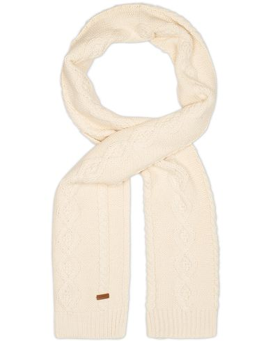 Gant Cable Scarf Cream  i gruppen Assesoarer / Skjerf hos Care of Carl (13321910)