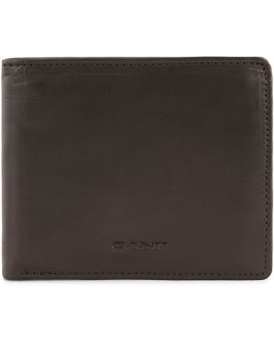 Gant Leather Wallets Brown Mud  i gruppen Accessoarer / Pl�nb�cker hos Care of Carl (13323010)