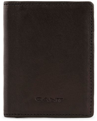 Gant Leather Double Card Holder Black  i gruppen Assesoarer / Lommebøker / Vanlige lommebøker hos Care of Carl (13323110)