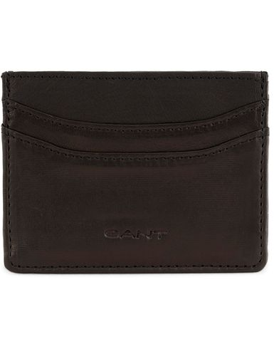 Gant Leather Card Holder Black  i gruppen Accessoarer / Plånböcker / Korthållare hos Care of Carl (13323310)