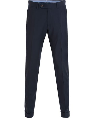 Morris Heritage Fred Plain Suit Trousers Navy i gruppen Bukser / Dressbukser hos Care of Carl (13324411r)