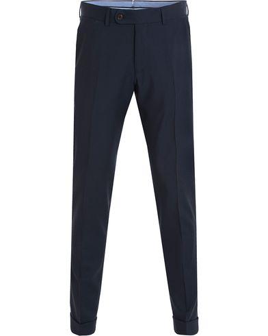 Morris Heritage Fred Plain Suit Trousers Navy i gruppen Byxor / Kostymbyxor hos Care of Carl (13324411r)