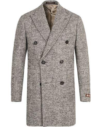 Morris Heritage Herringbone Coat Blazer Grey i gruppen Klær / Jakker / Frakker hos Care of Carl (13325211r)
