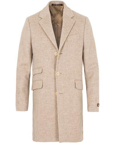 Morris Heritage George Doublefaced Coat Camel i gruppen Jackor / Rockar hos Care of Carl (13325311r)