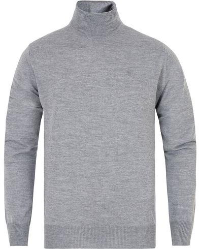 Morris Heritage Turtleneck Grey i gruppen Gensere / Pologensere hos Care of Carl (13325811r)