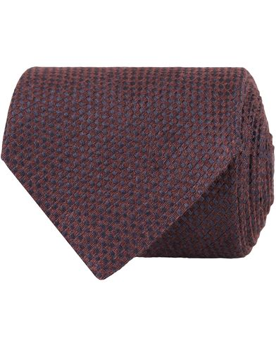 Morris Heritage Gianni Structure 8cm Tie Red  i gruppen Accessoarer / Slipsar hos Care of Carl (13327310)