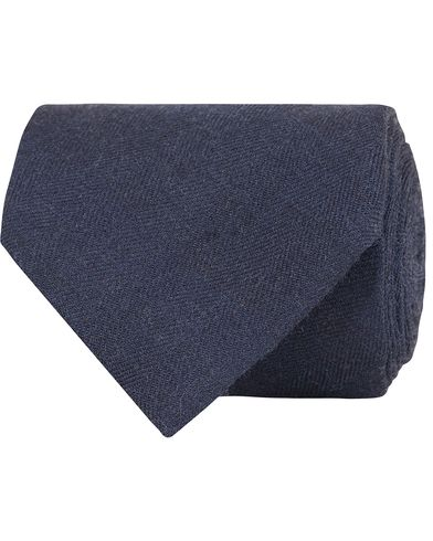 Morris Heritage Fabrizio Structure 8cm Tie Navy  i gruppen Assesoarer / Slips hos Care of Carl (13327710)