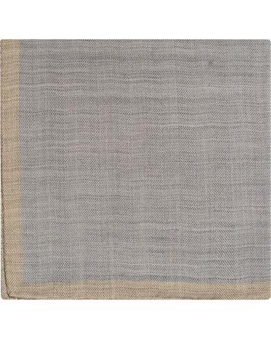 Morris Heritage Fabrizio Pocket Square Grey  i gruppen Design A / Assesoarer / Lommetørklær hos Care of Carl (13328110)