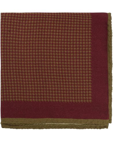 Morris Heritage Gustavo Pocket Square Red  i gruppen Accessoarer / Näsdukar hos Care of Carl (13328310)