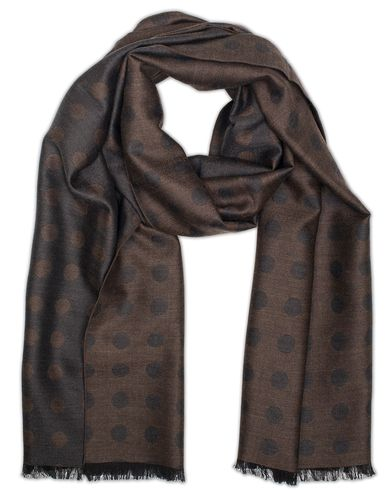 Morris Heritage Piero Dot Scarf Brown  i gruppen Accessoarer / Scarves hos Care of Carl (13328710)