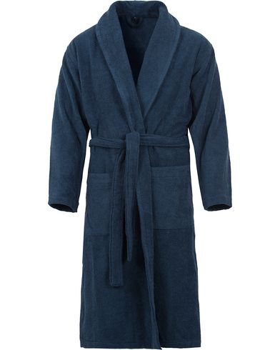Gant Terry Cotton Bathrobe Yankee Blue i gruppen Underkläder / Morgonrockar hos Care of Carl (13330011r)