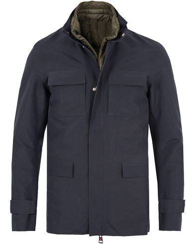 Kired Plata Laser Cut Field Jacket Navy i gruppen Kläder / Jackor / Tunna jackor hos Care of Carl (13330511r)