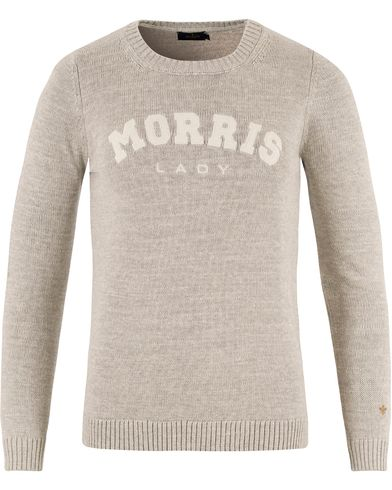 Morris Lady Woman Billie Jean Cotton Oneck Grey i gruppen Assesoarer hos Care of Carl (13330911r)