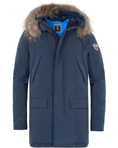 Rossignol Gravity Down Fill Parka Navy i gruppen Jakker / Parkas hos Care of Carl (13334011r)