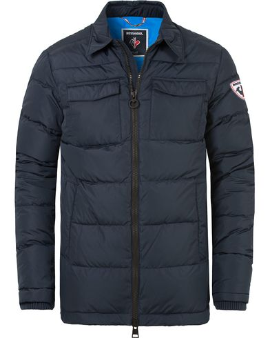 Rossignol Gravity Down Shirt Jacket Navy i gruppen Kläder / Jackor / Vadderade jackor hos Care of Carl (13334111r)