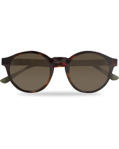 Orlebar Brown OB6C7SUN Sunglasses Havana/Green  i gruppen Solbriller / Runde solbriller hos Care of Carl (13334910)